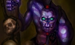 Dota2 : Witch Doctor widescreen wallpapers