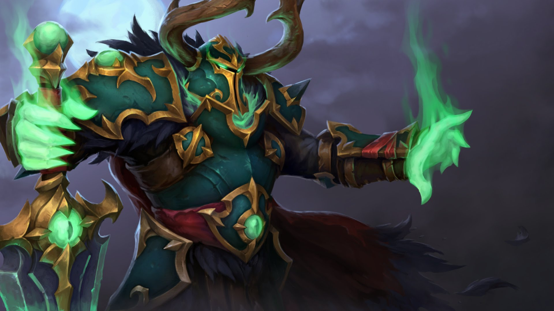 Dota2 : Wraith King widescreen wallpapers