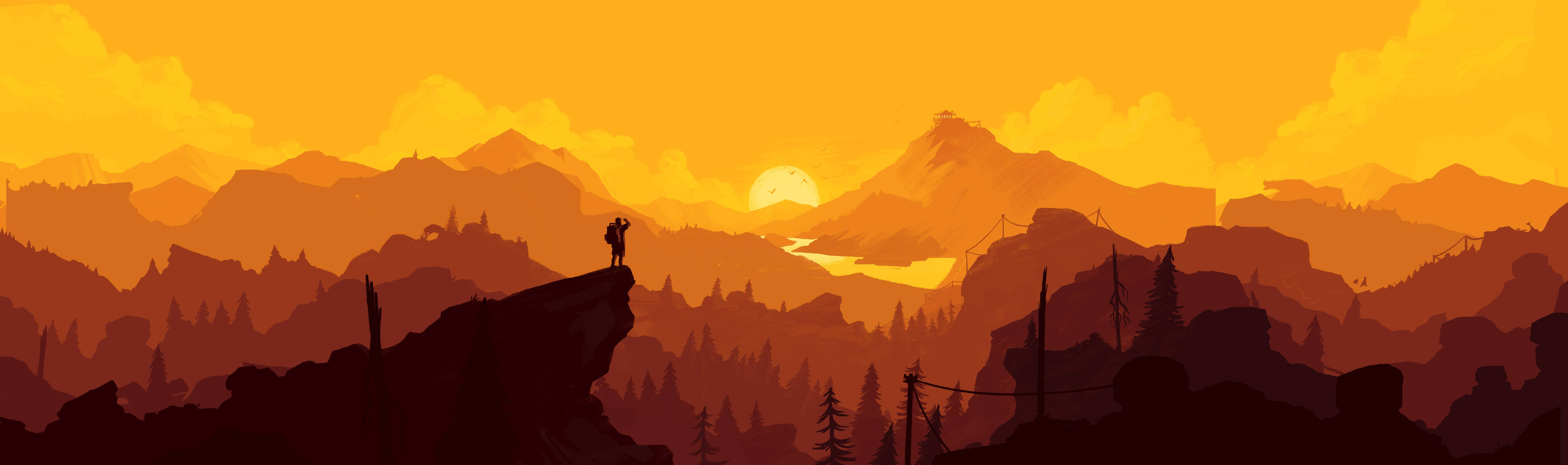 Firewatch HD pictures
