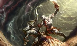 God Of War 2 widescreen wallpapers