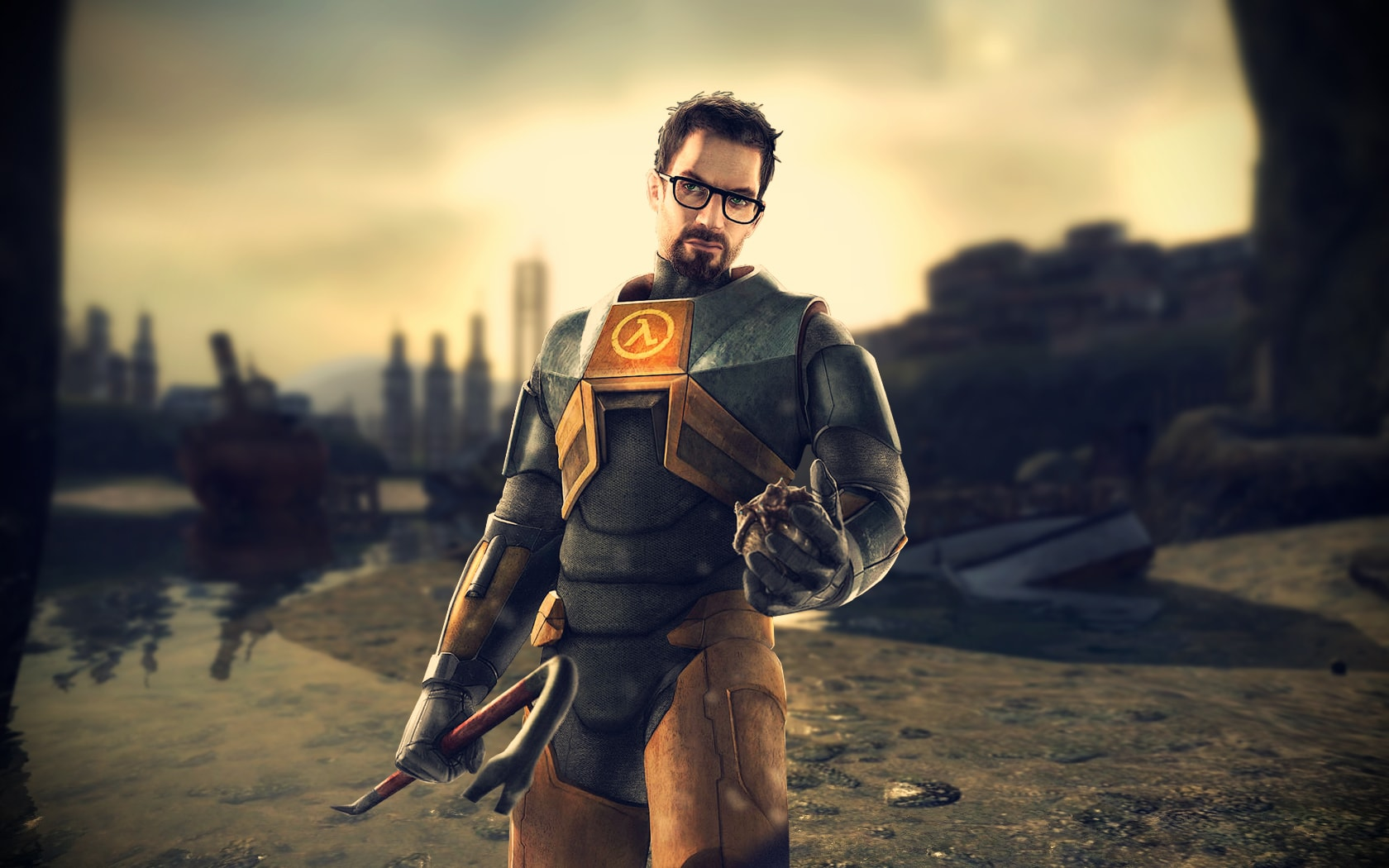 Half-Life 2 widescreen wallpapers
