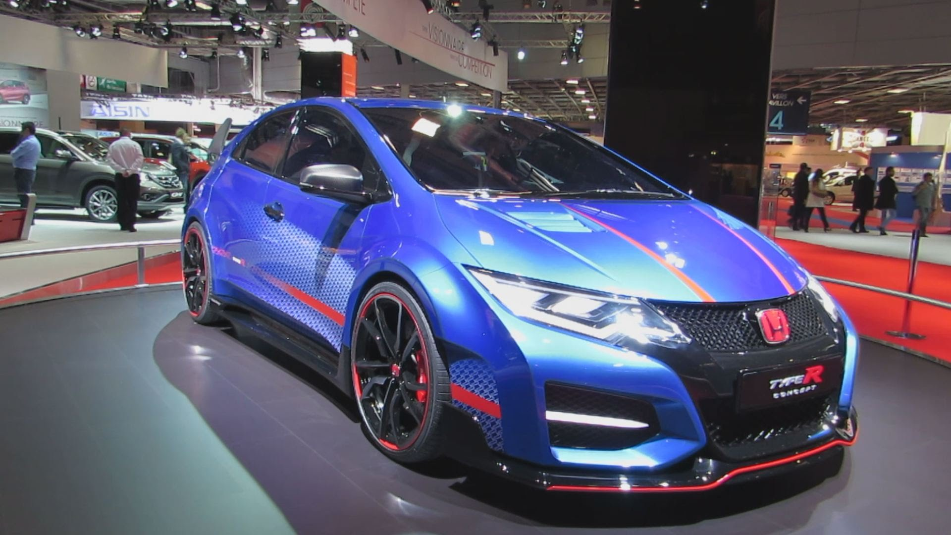 Honda Civic Type-R HD pictures