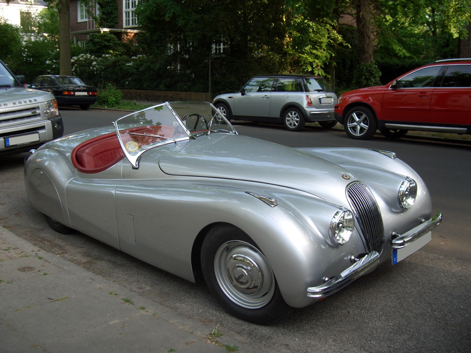 Jaguar XK120 HD pictures