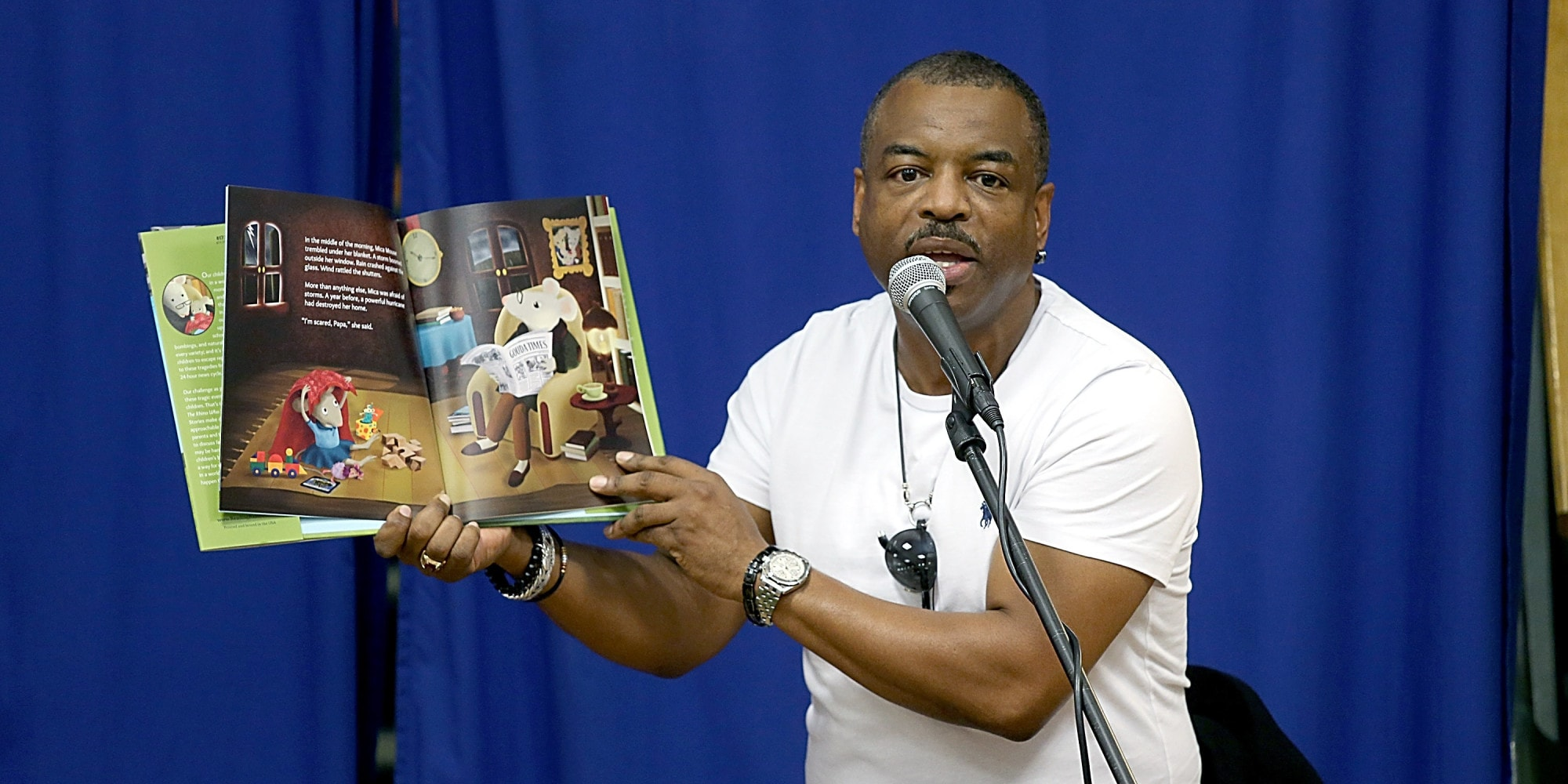 LeVar Burton HD pictures