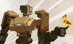 Overwatch : Bastion Wallpaper