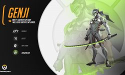Overwatch : Genji Full hd wallpapers