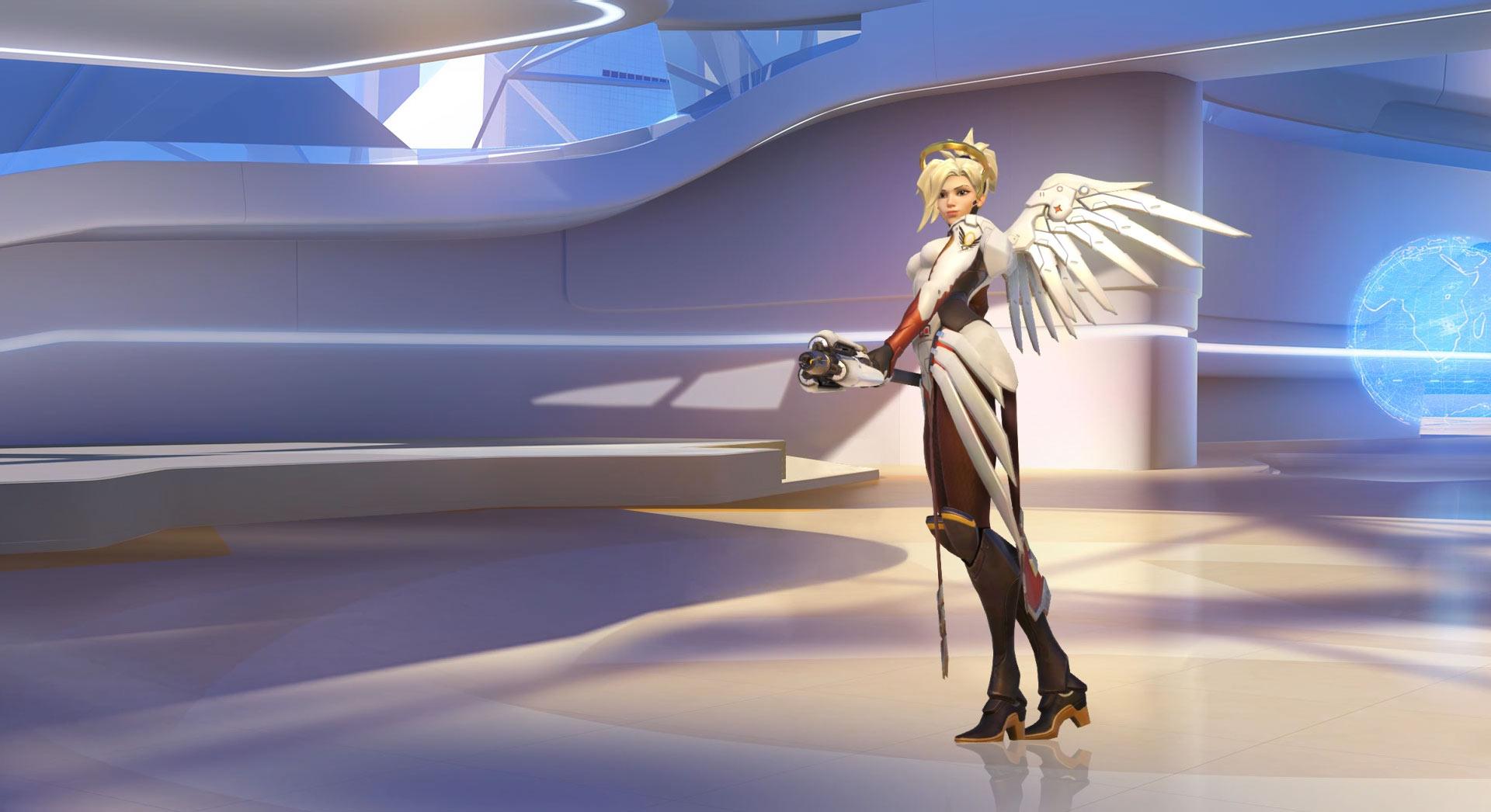 Overwatch : Mercy Wallpaper