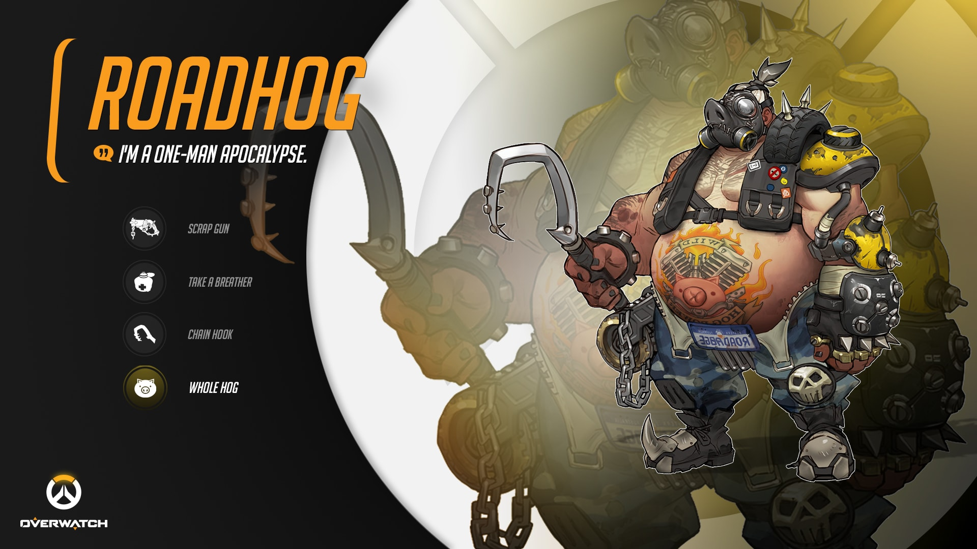 Overwatch : Roadhog Wallpaper