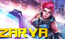Overwatch : Zarya Full hd wallpapers