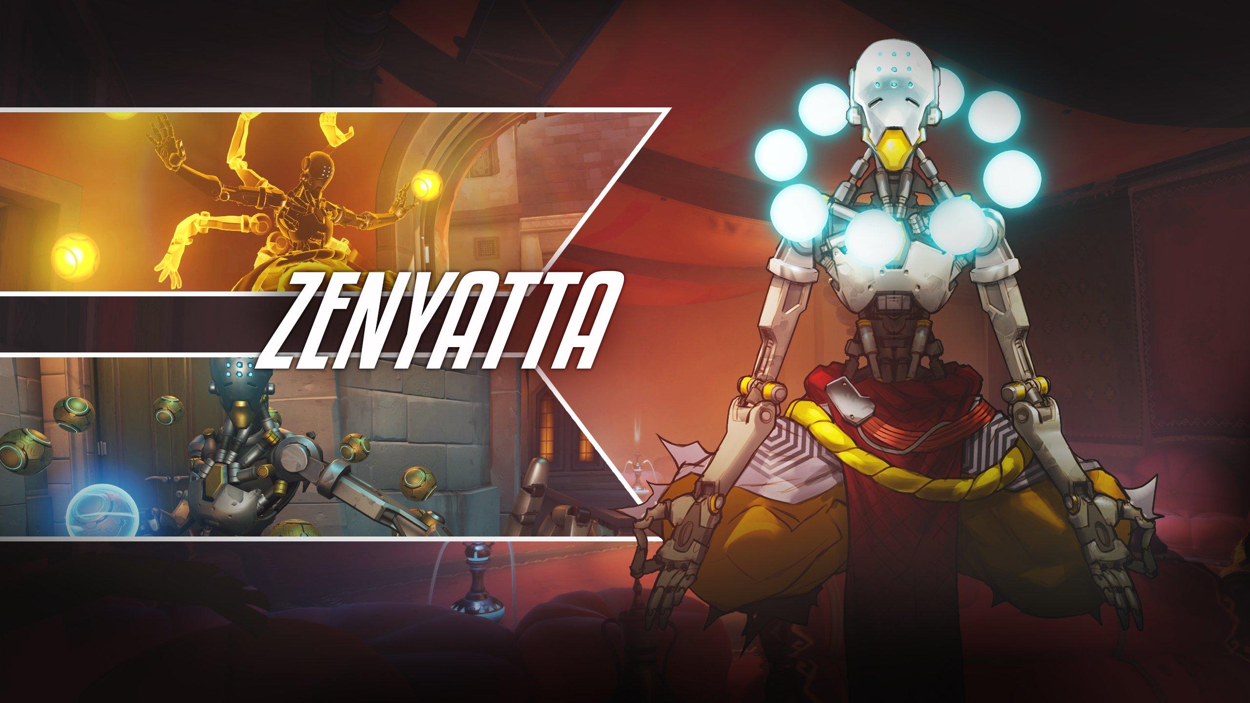 Overwatch : Zenyatta HD pictures