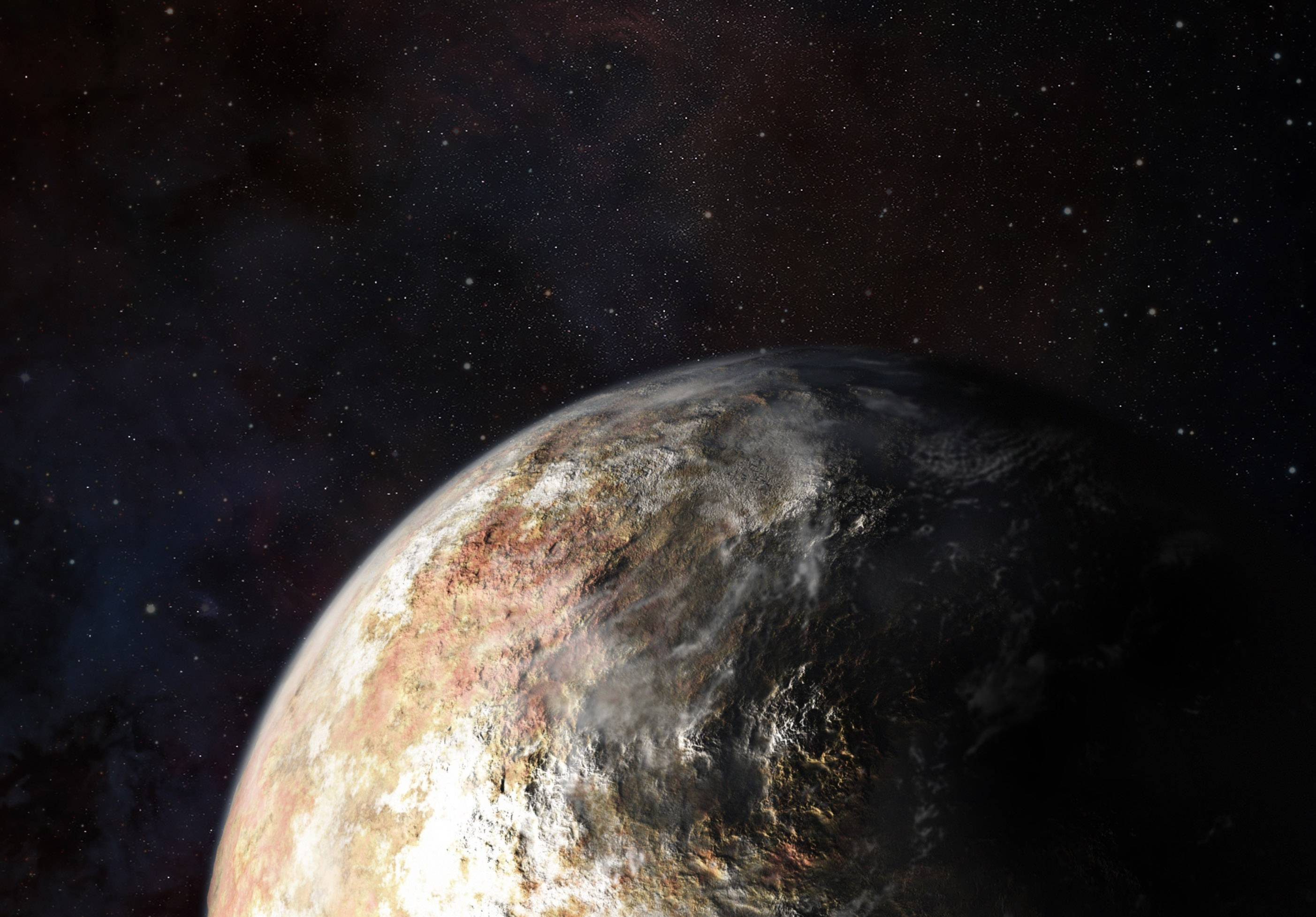 Pluto HD pictures