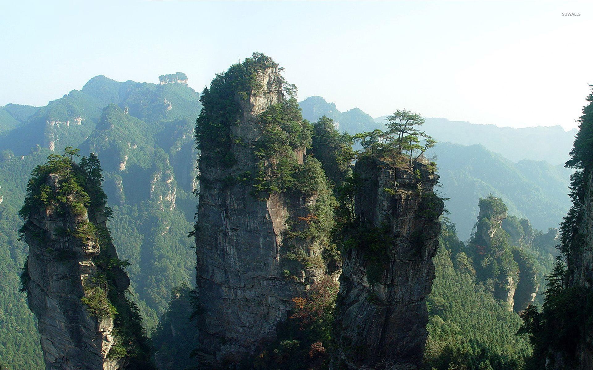 Tianzi Mountain HD pictures