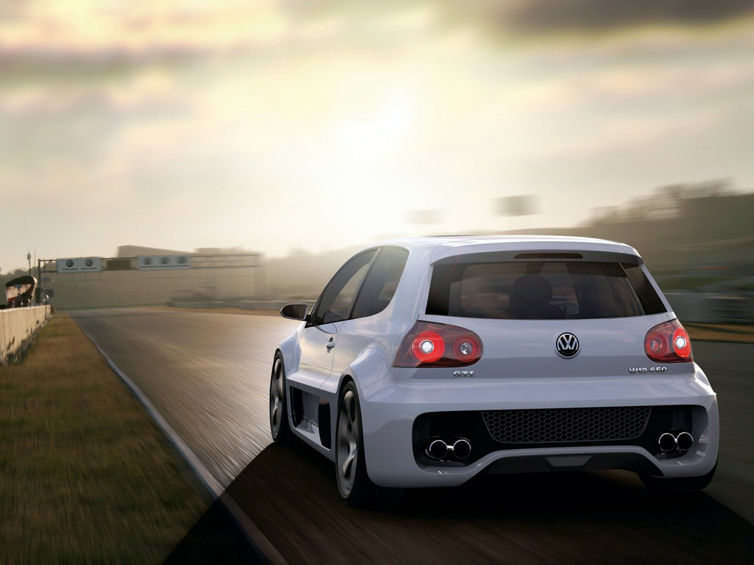 Volkswagen Golf GTI W12-650 Concept HQ wallpapers