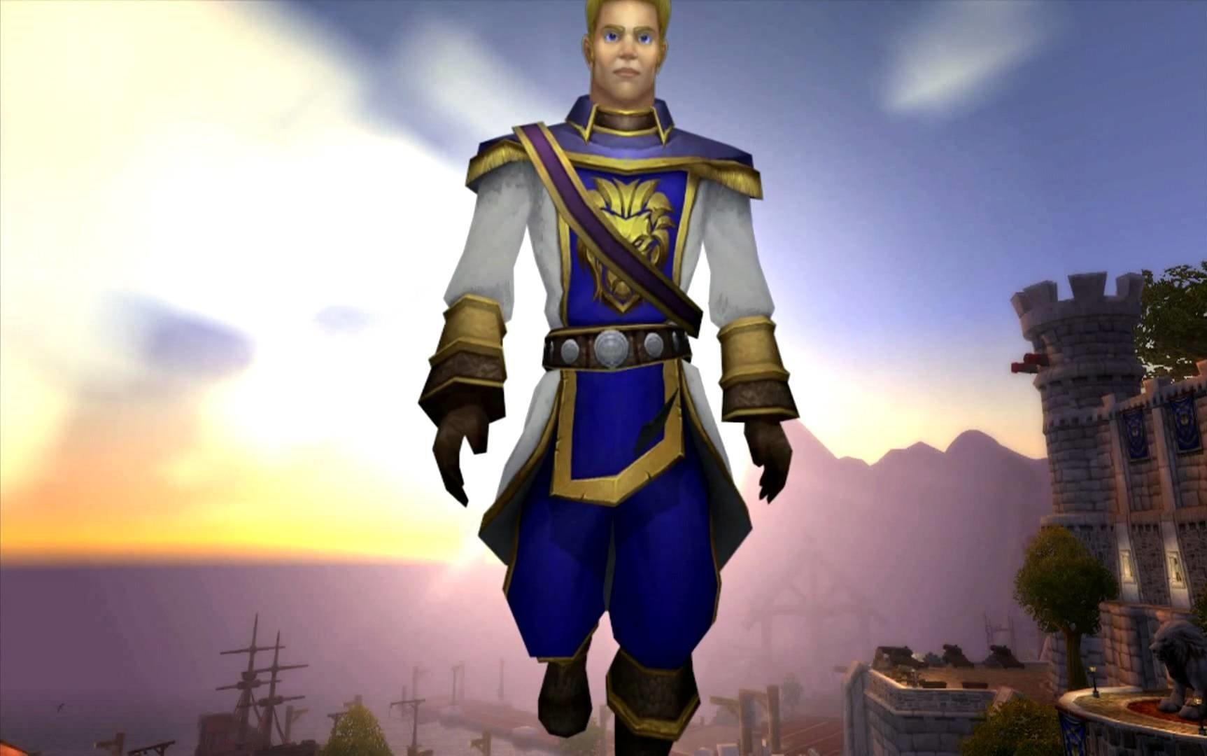 WOW: Anduin Wrynn Wallpaper
