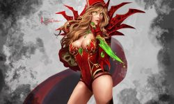 WOW: Valeera Sanguinar HD pictures