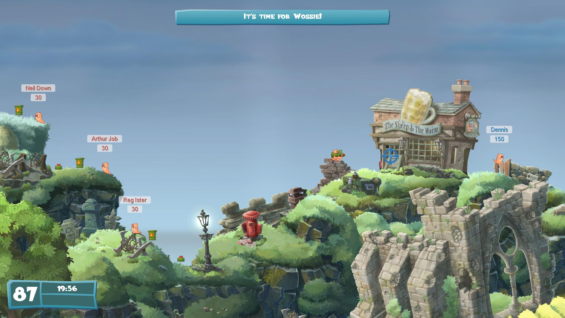 Worms W.M.D HD pictures