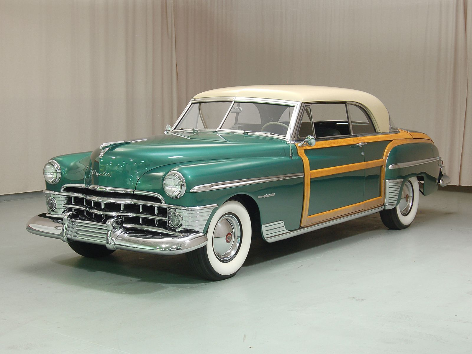 1950 Chrysler Town & Country Full hd wallpapers