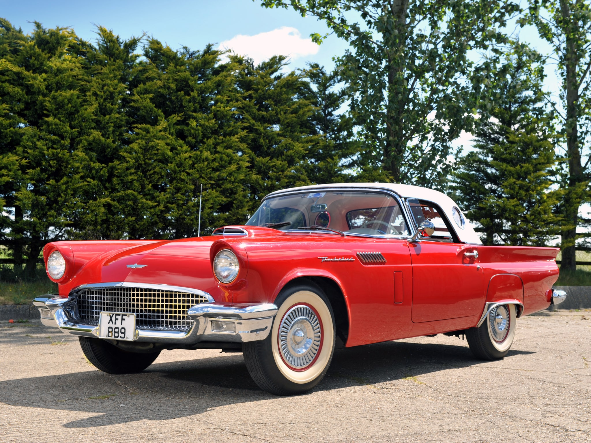 1957 Ford Thunderbird Full hd wallpapers