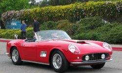 1961 Ferrari 250 GT California Wallpaper