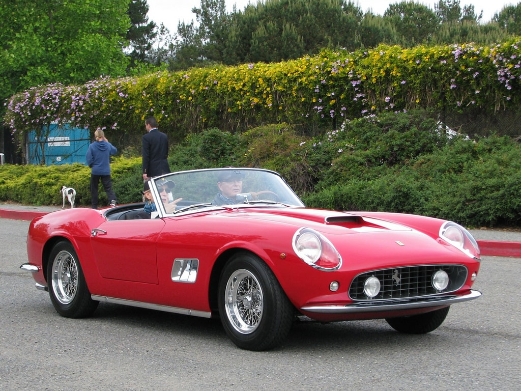 1961 Ferrari 250 GT California Wallpaper