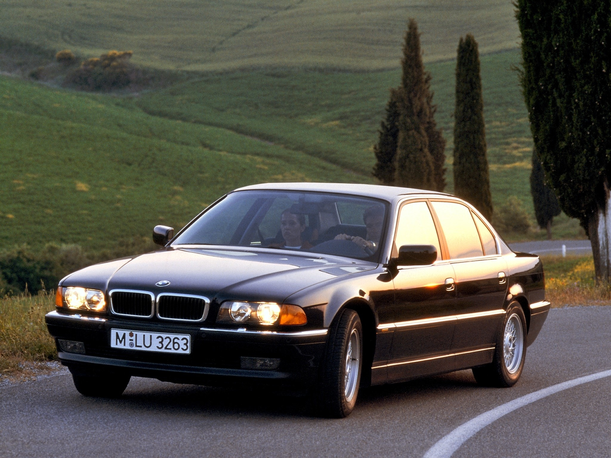 1995 BMW 7 Series Full hd wallpapers