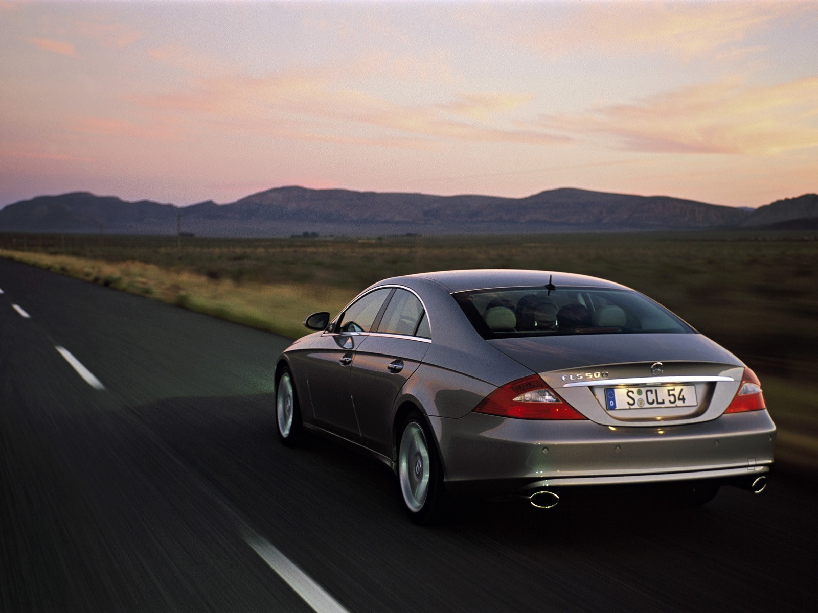 2005 Mercedes-Benz CLS Full hd wallpapers