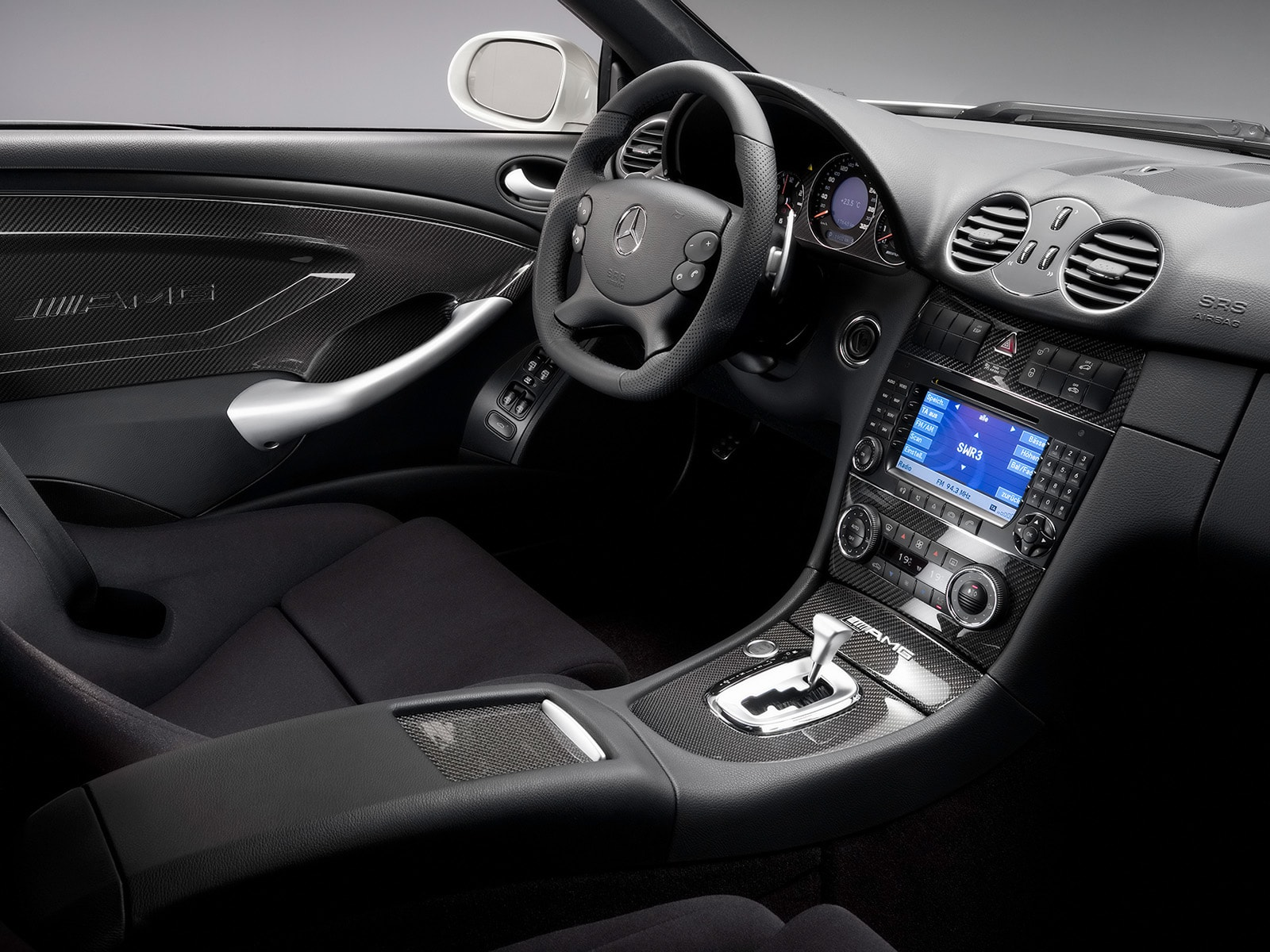 2008 Mercedes-Benz CLK63 AMG Black Series Full hd wallpapers