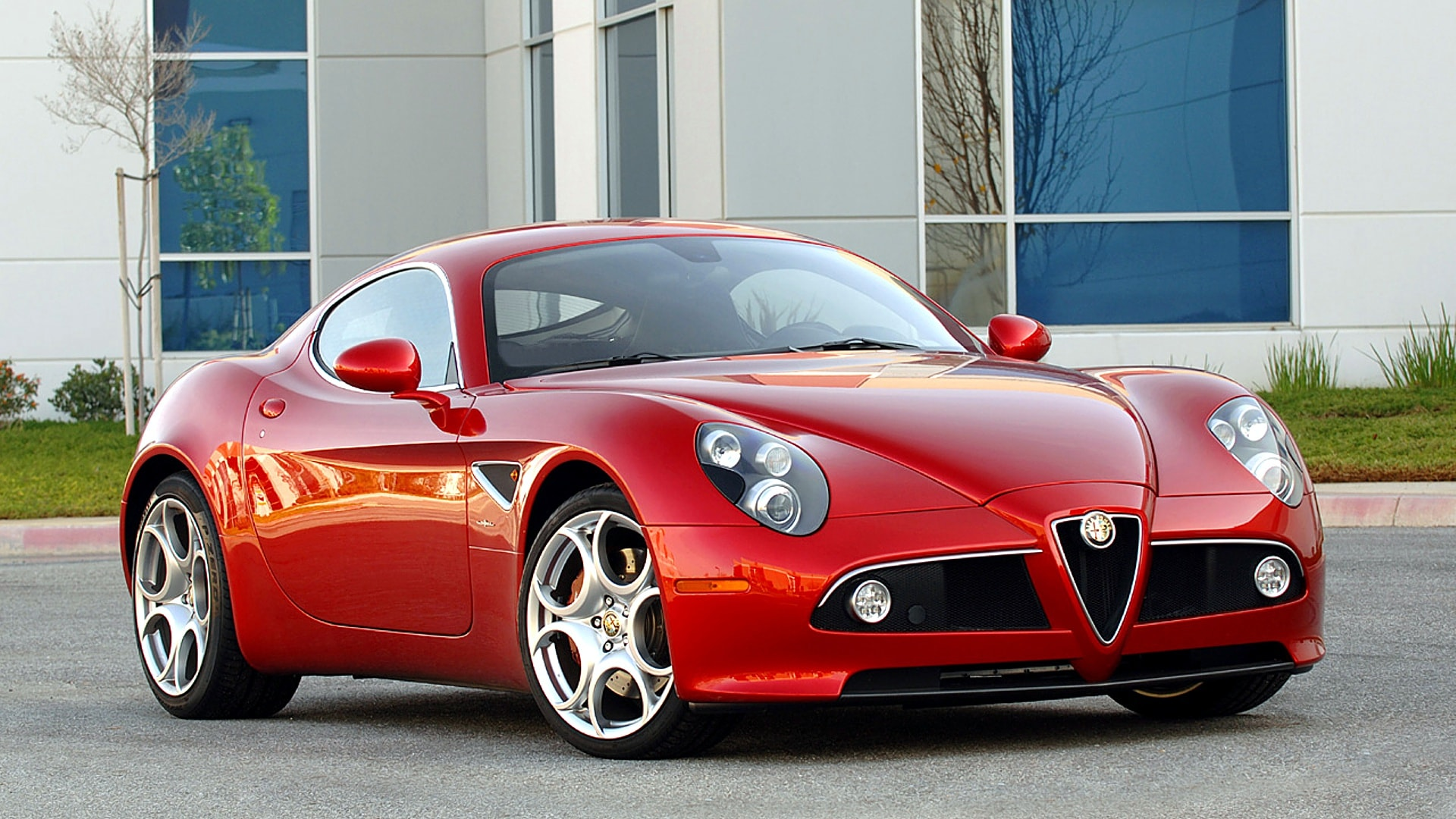 Alfa Romeo 8c Full hd wallpapers