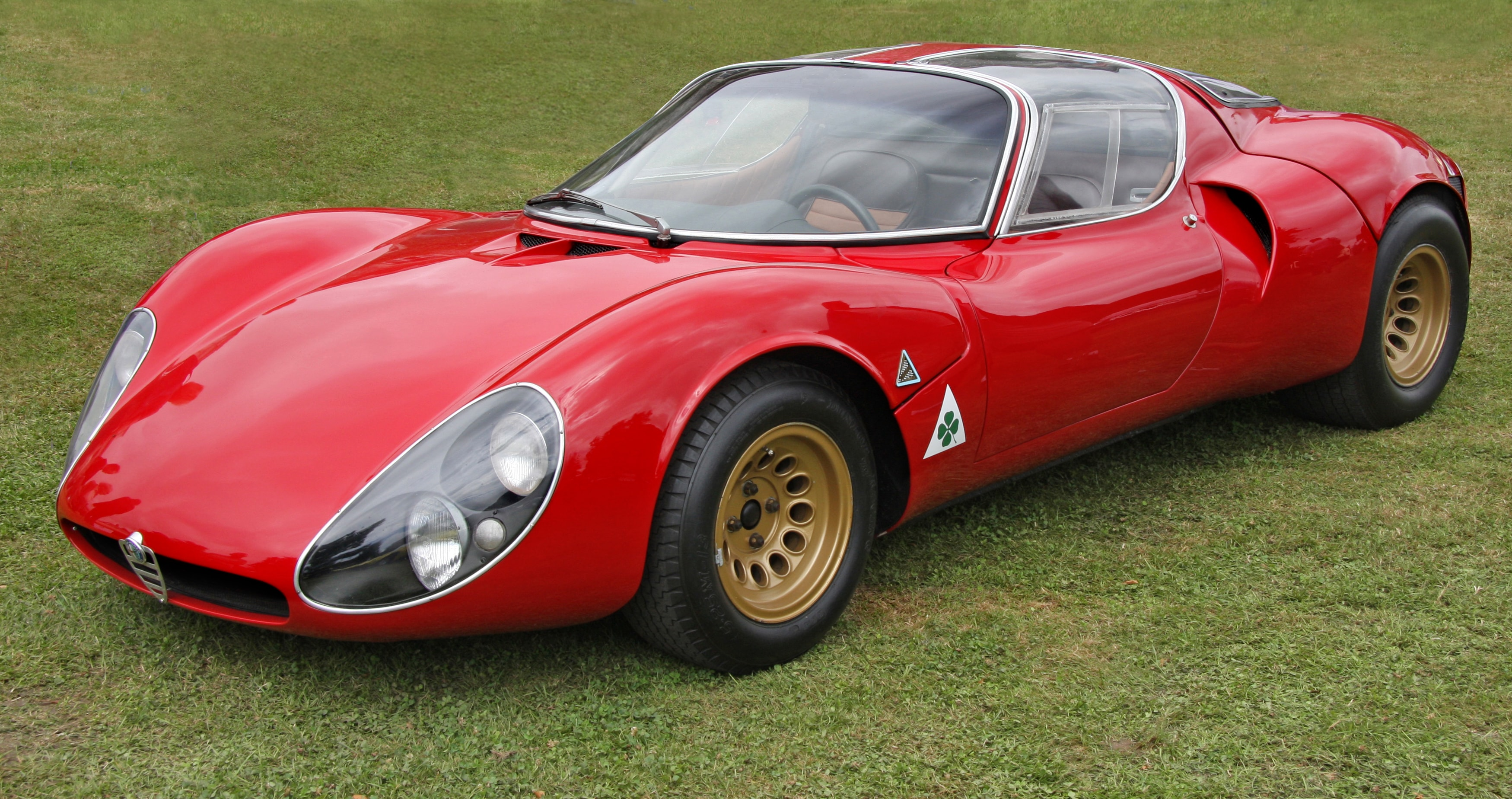 Alfa Romeo Tipo 33 Stradale Full hd wallpapers