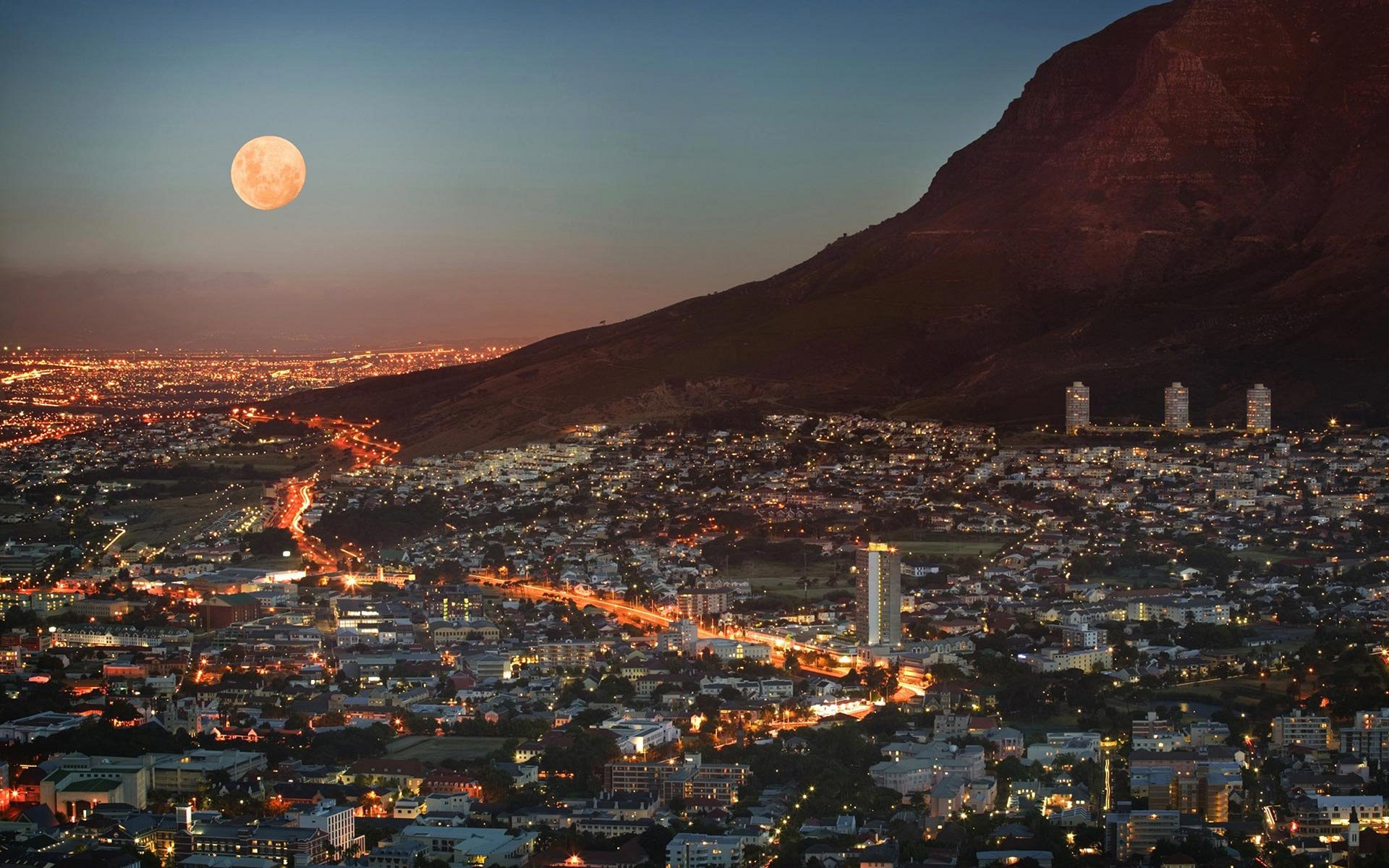 Cape Town desktop wallpaper