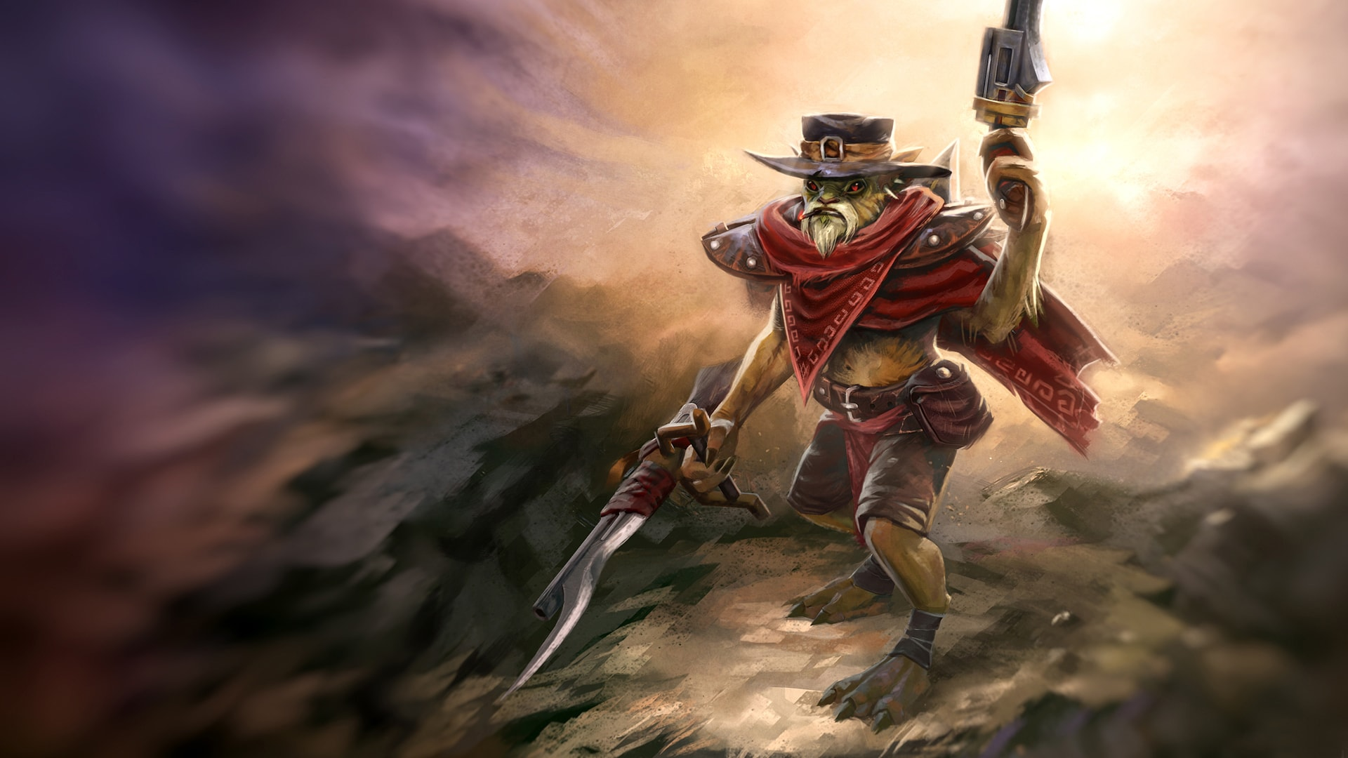 Dota2 : Bounty Hunter full hd wallpapers