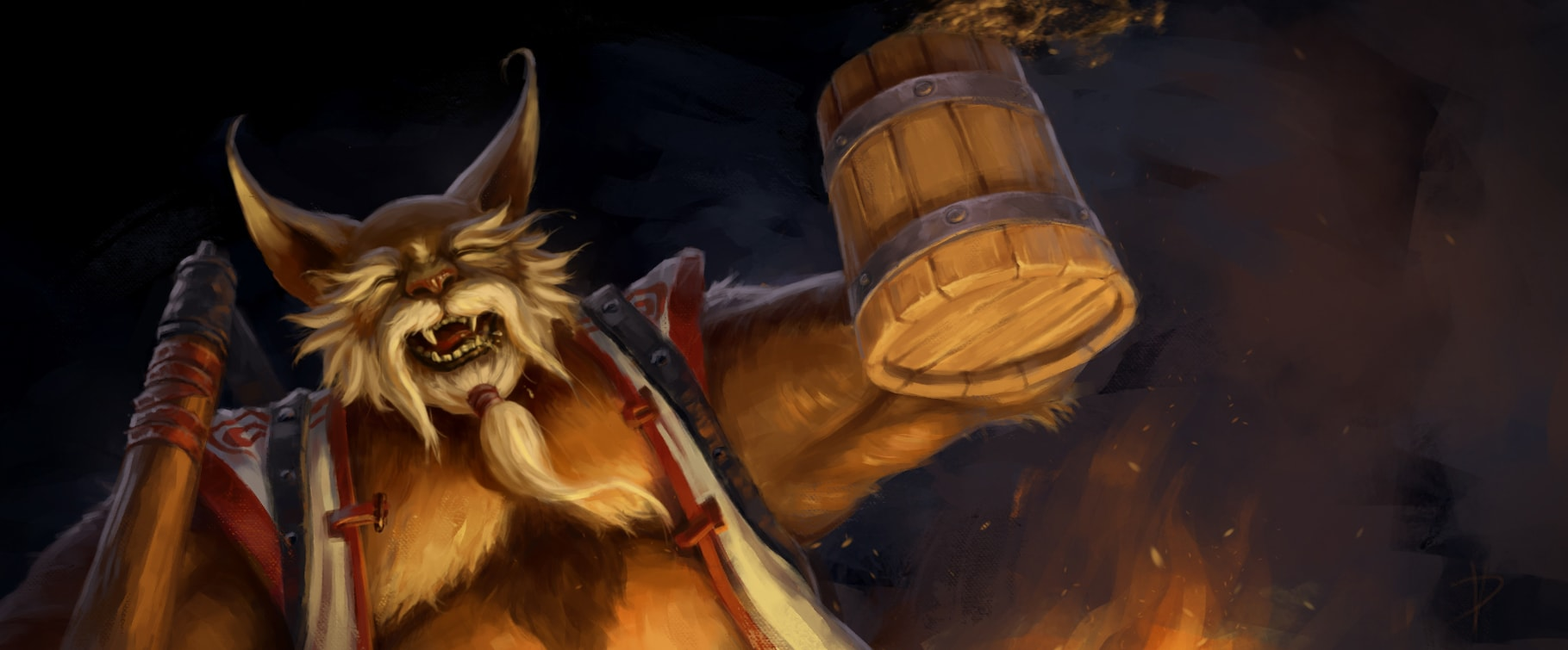 Dota2 : Brewmaster full hd wallpapers