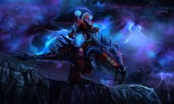 Dota2 : Disruptor widescreen for desktop