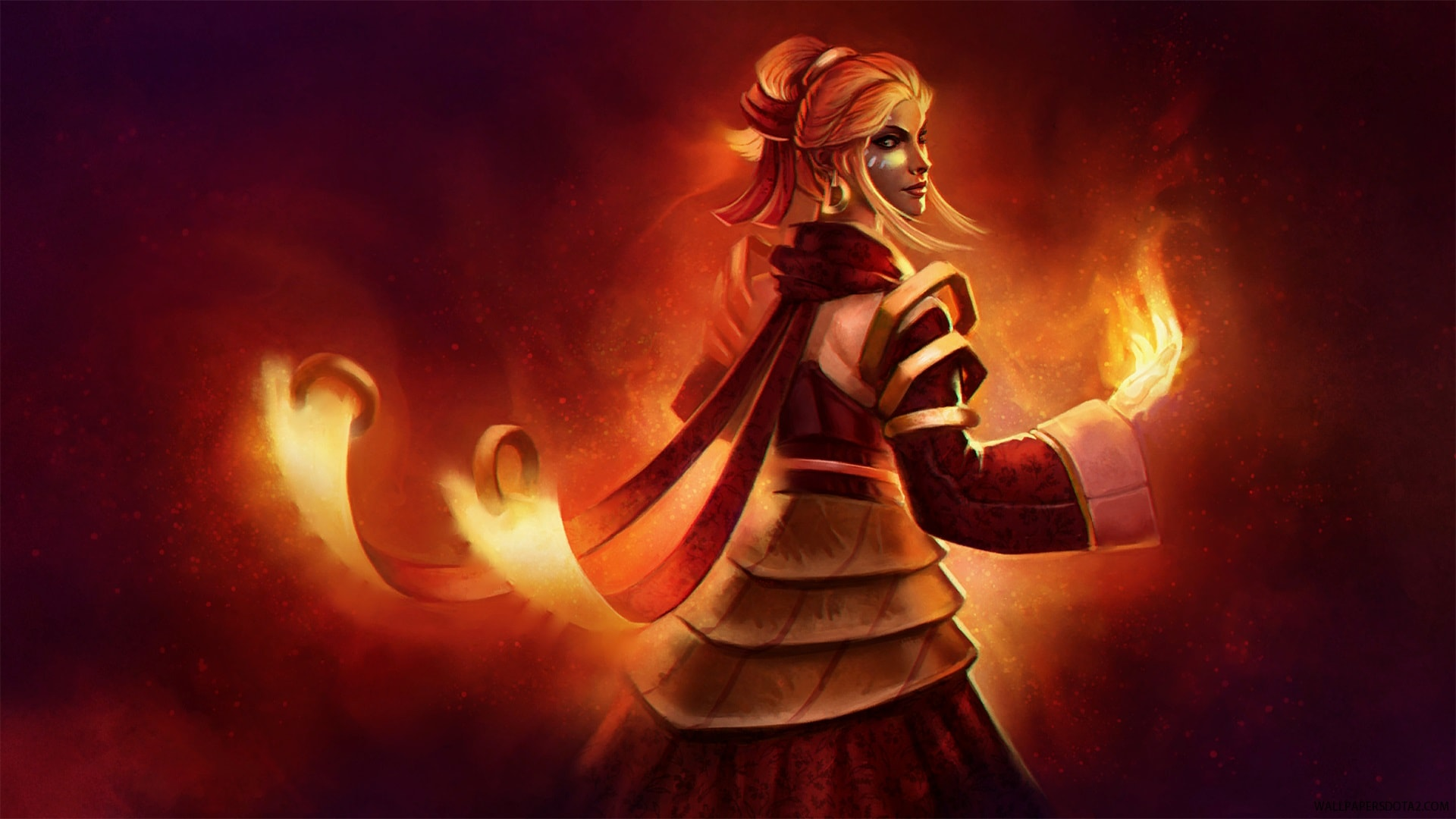 Dota2 : Lina full hd wallpapers