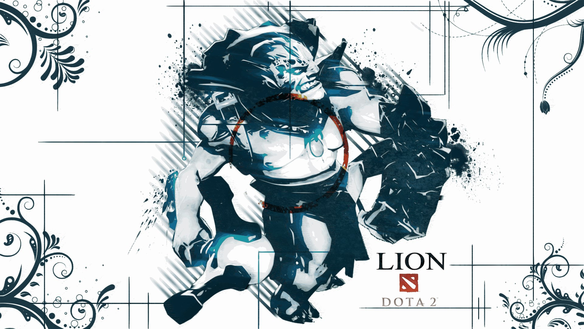 Dota2 : Lion Backgrounds