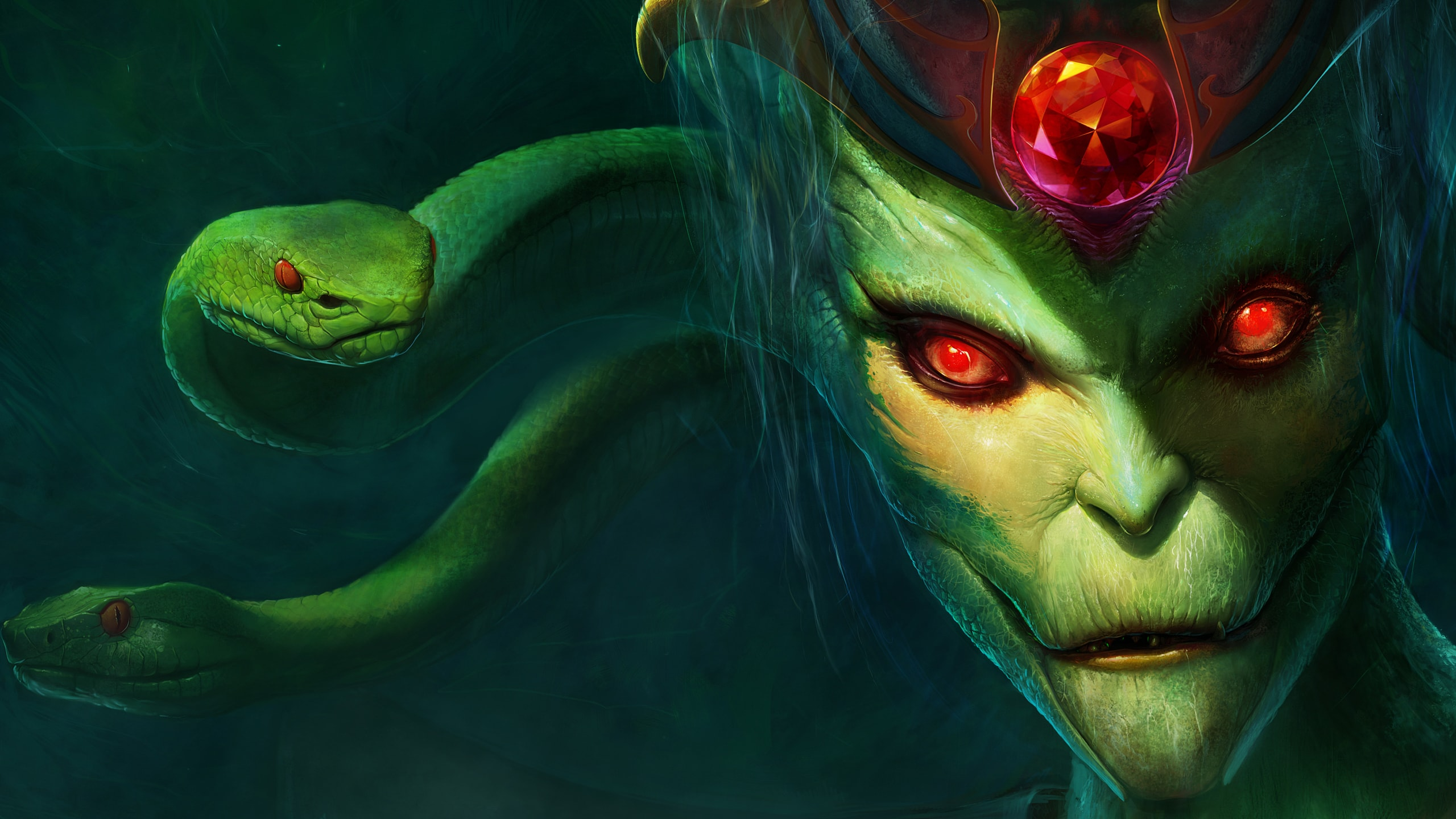 Dota2 : Medusa Backgrounds