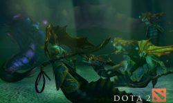 Dota2 : Naga Siren full hd wallpapers