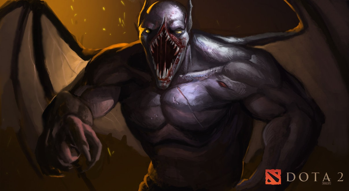 Dota2 : Night Stalker for mobile