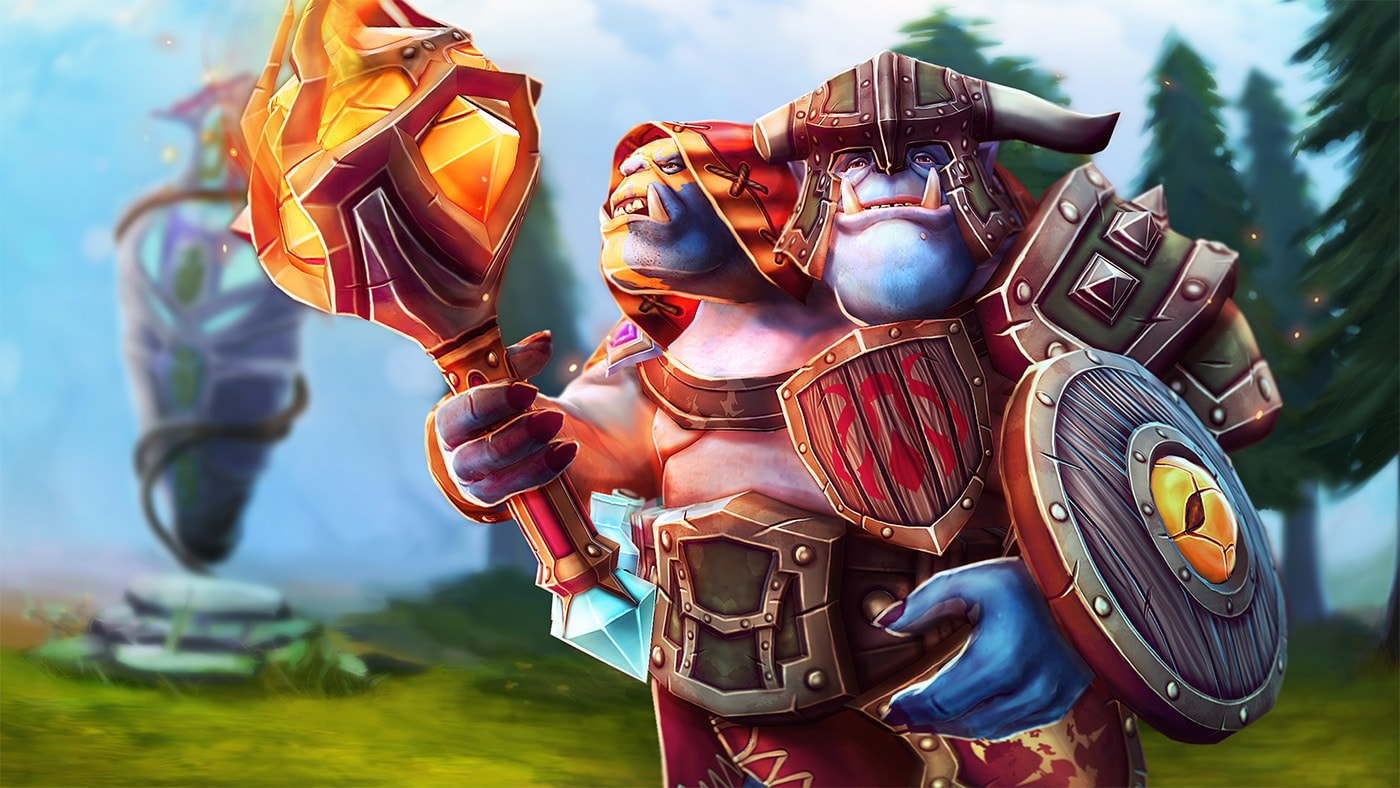 Dota2 : Ogre Magi widescreen wallpapers