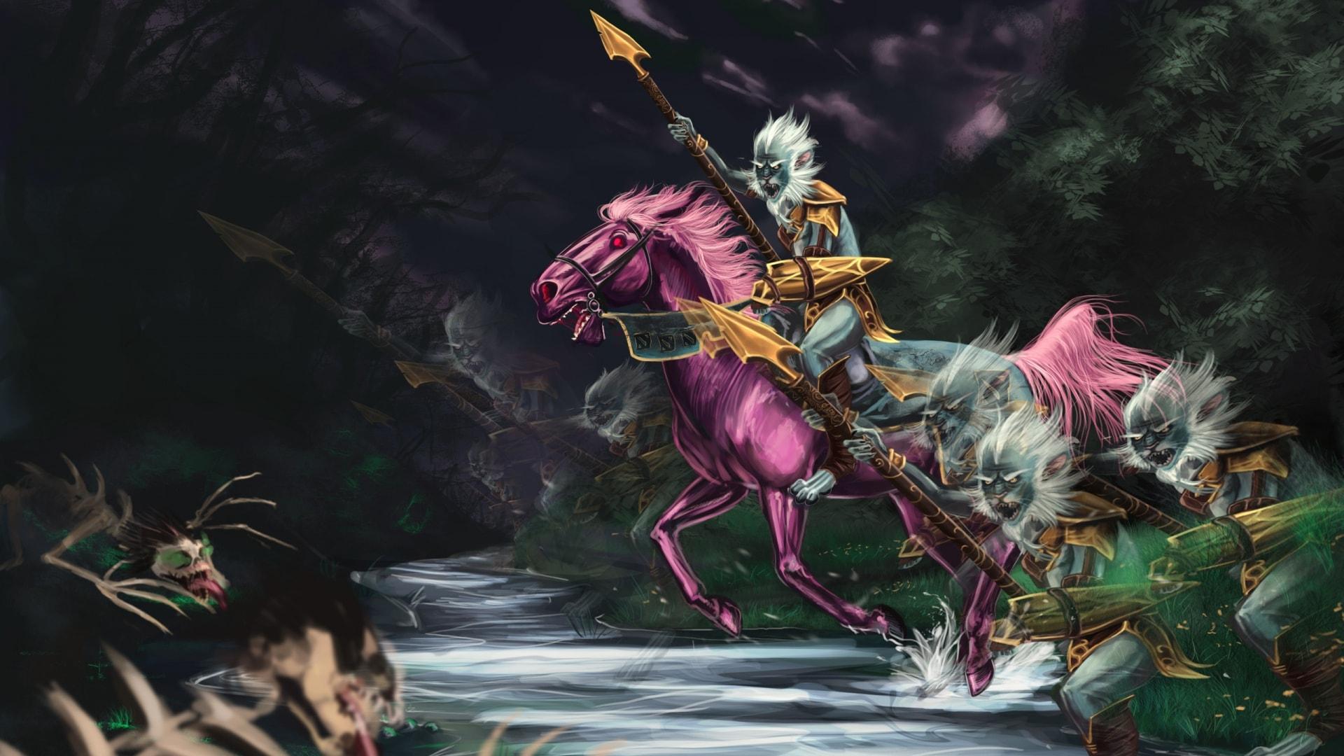 Dota2 : Phantom Lancer full hd wallpapers