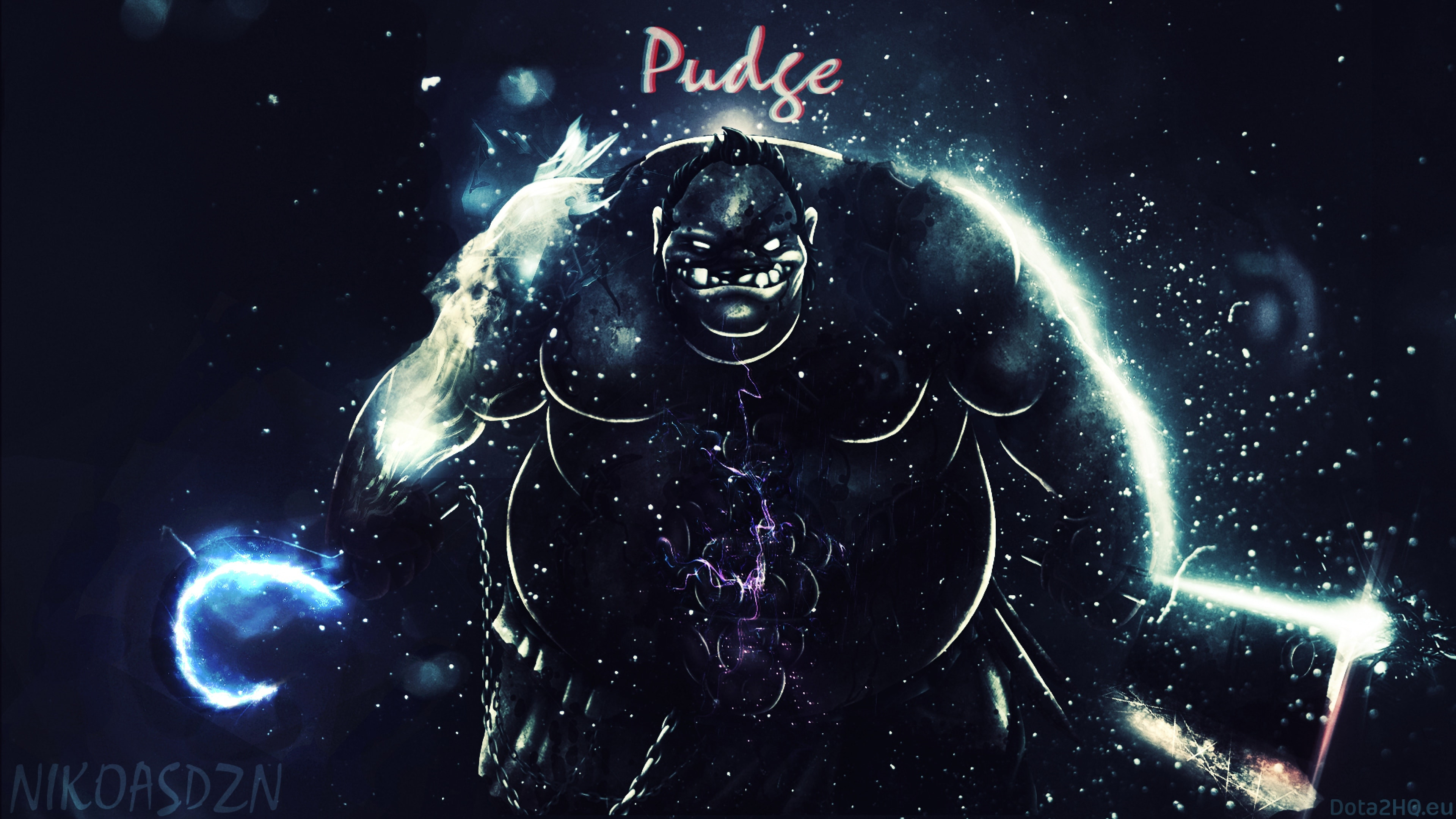 Dota2 : Pudge for mobile
