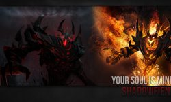Dota2 : Shadow Fiend widescreen for desktop