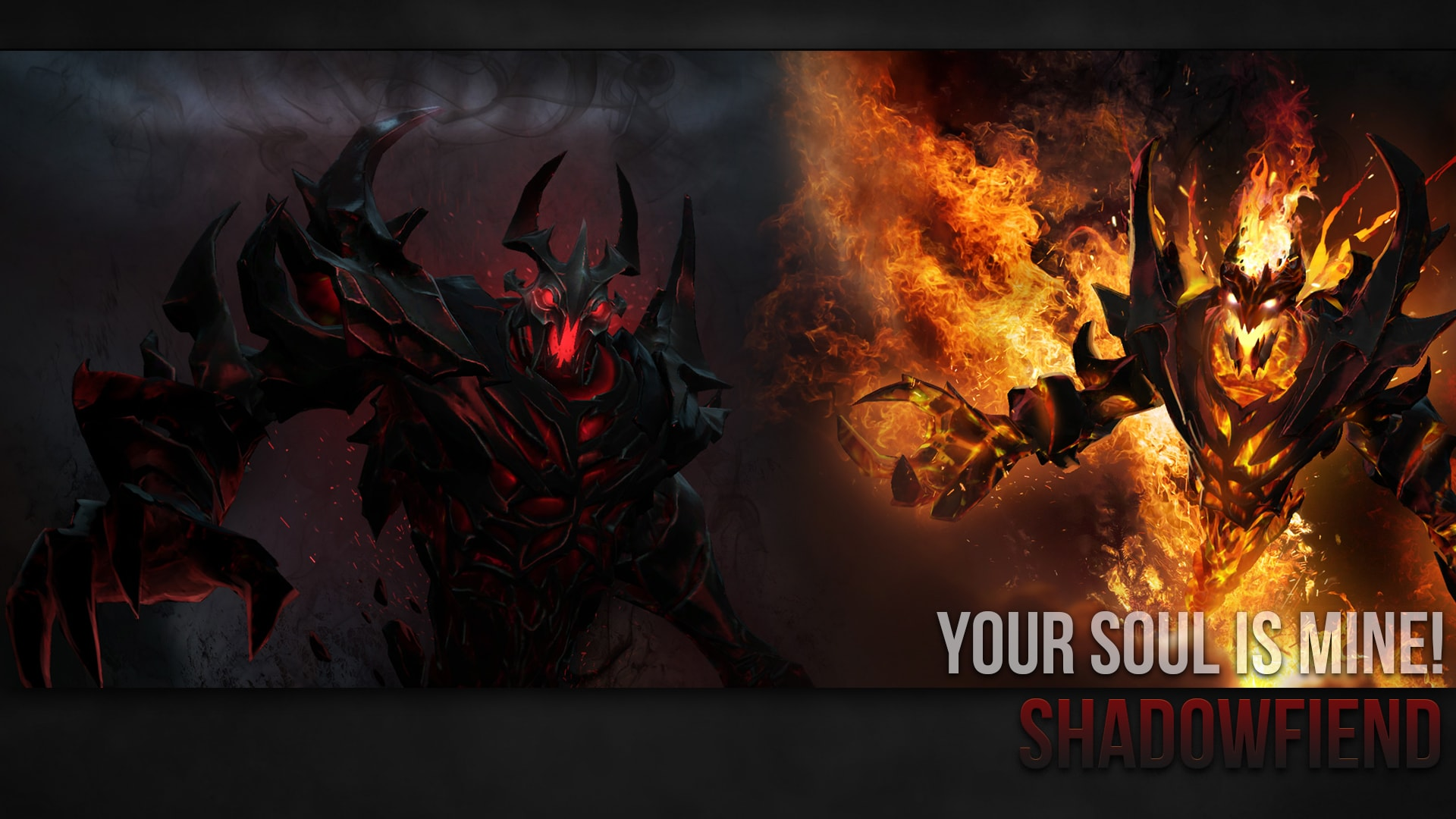 Dota2 : Shadow Fiend widescreen for desktop
