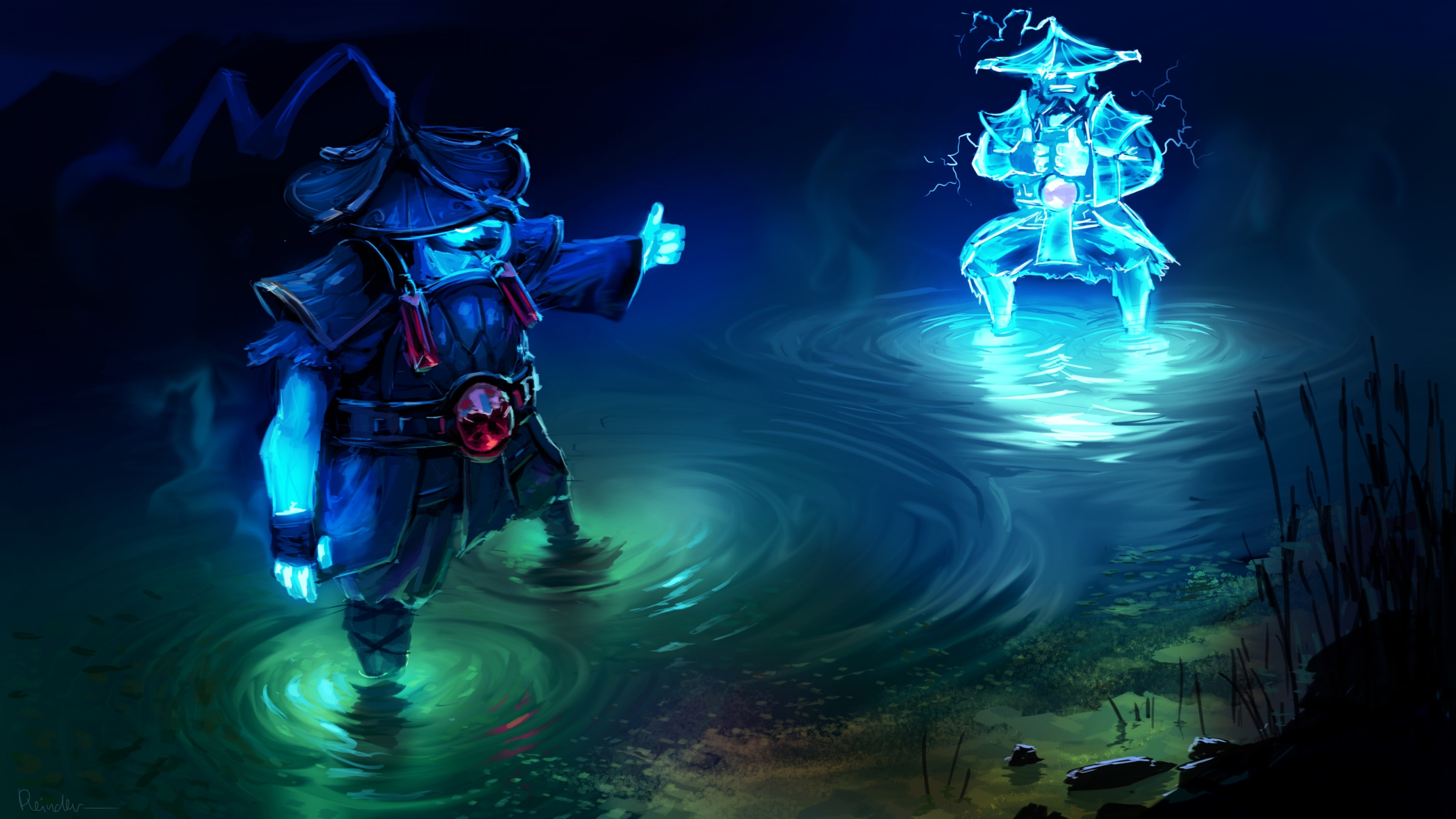 Dota2 : Storm Spirit full hd wallpapers