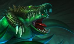 Dota2 : Tidehunter widescreen for desktop