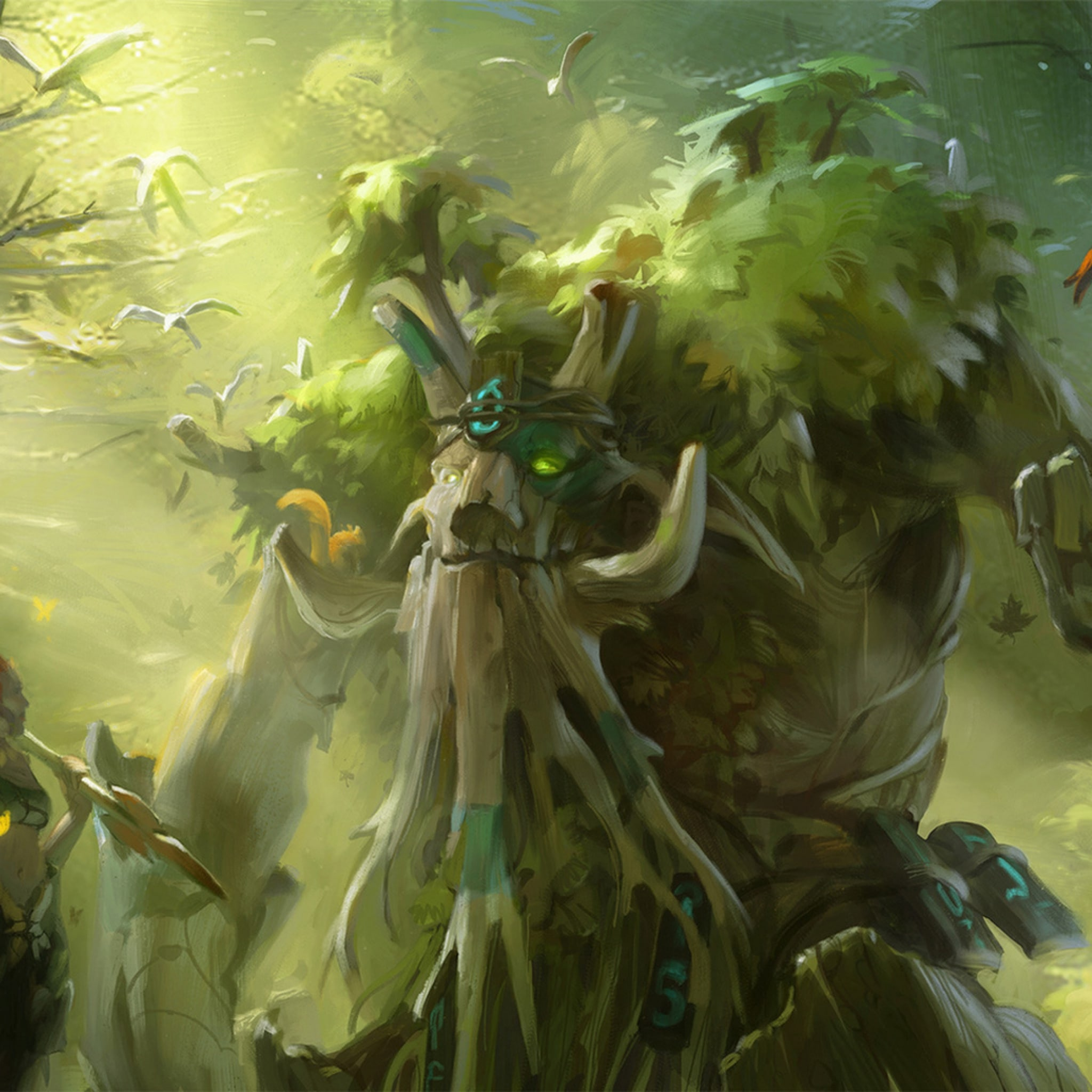 Dota2 : Treant Protector full hd wallpapers