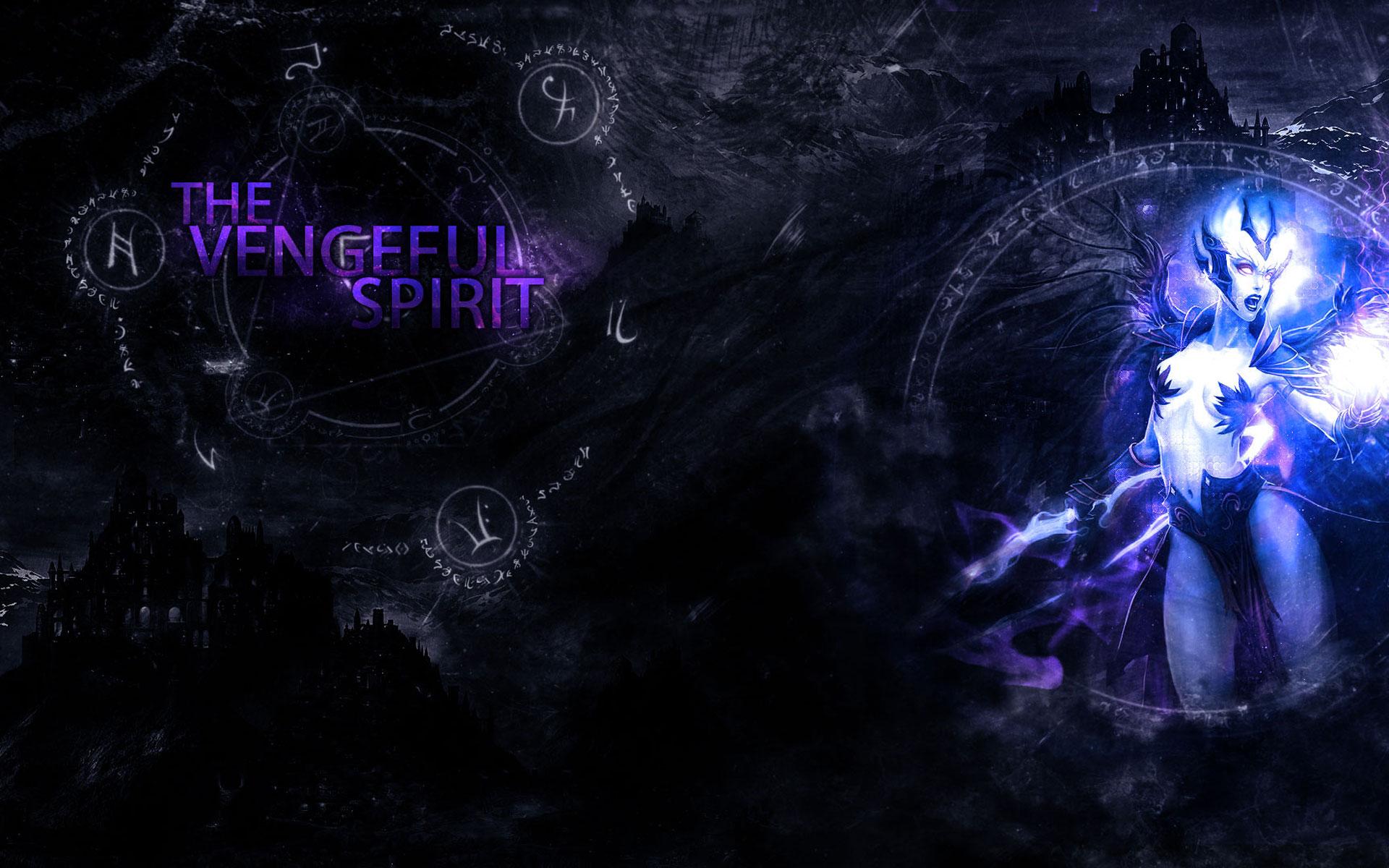 Dota2 : Vengeful Spirit full hd wallpapers