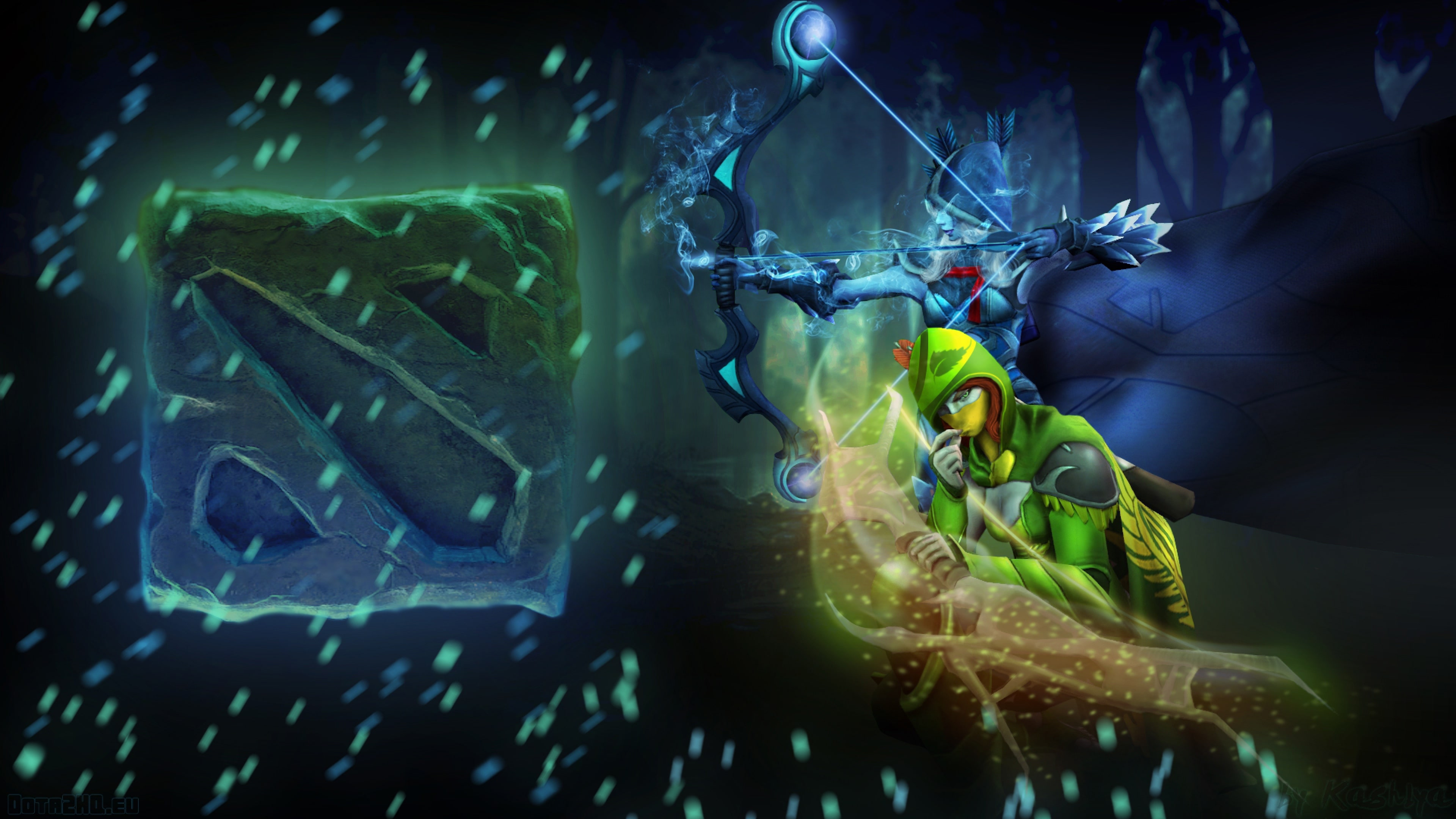 Dota2 : Windranger full hd wallpapers