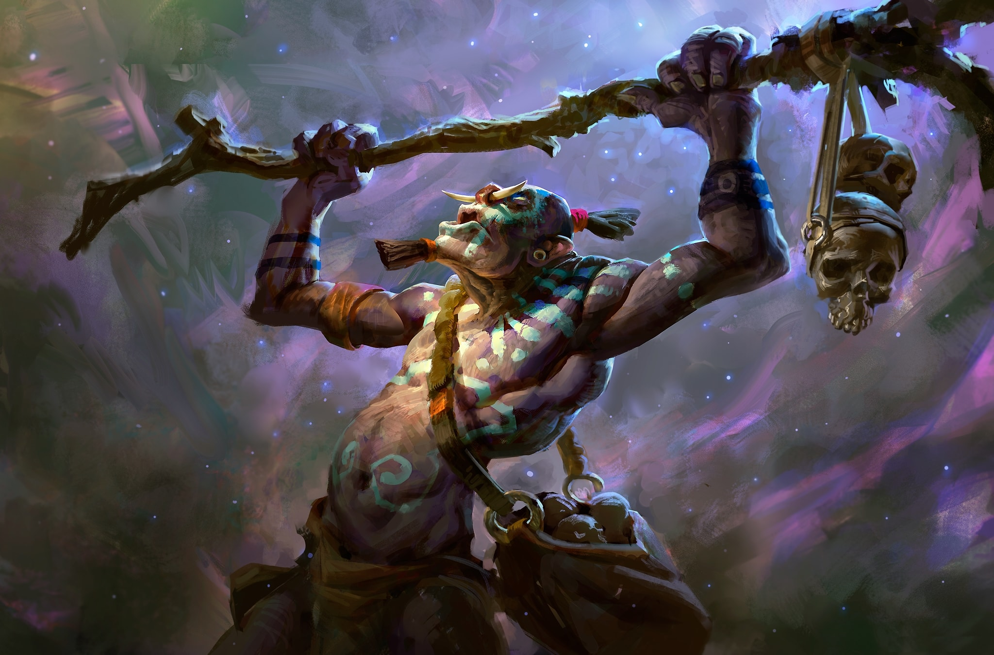 Dota2 : Witch Doctor for mobile