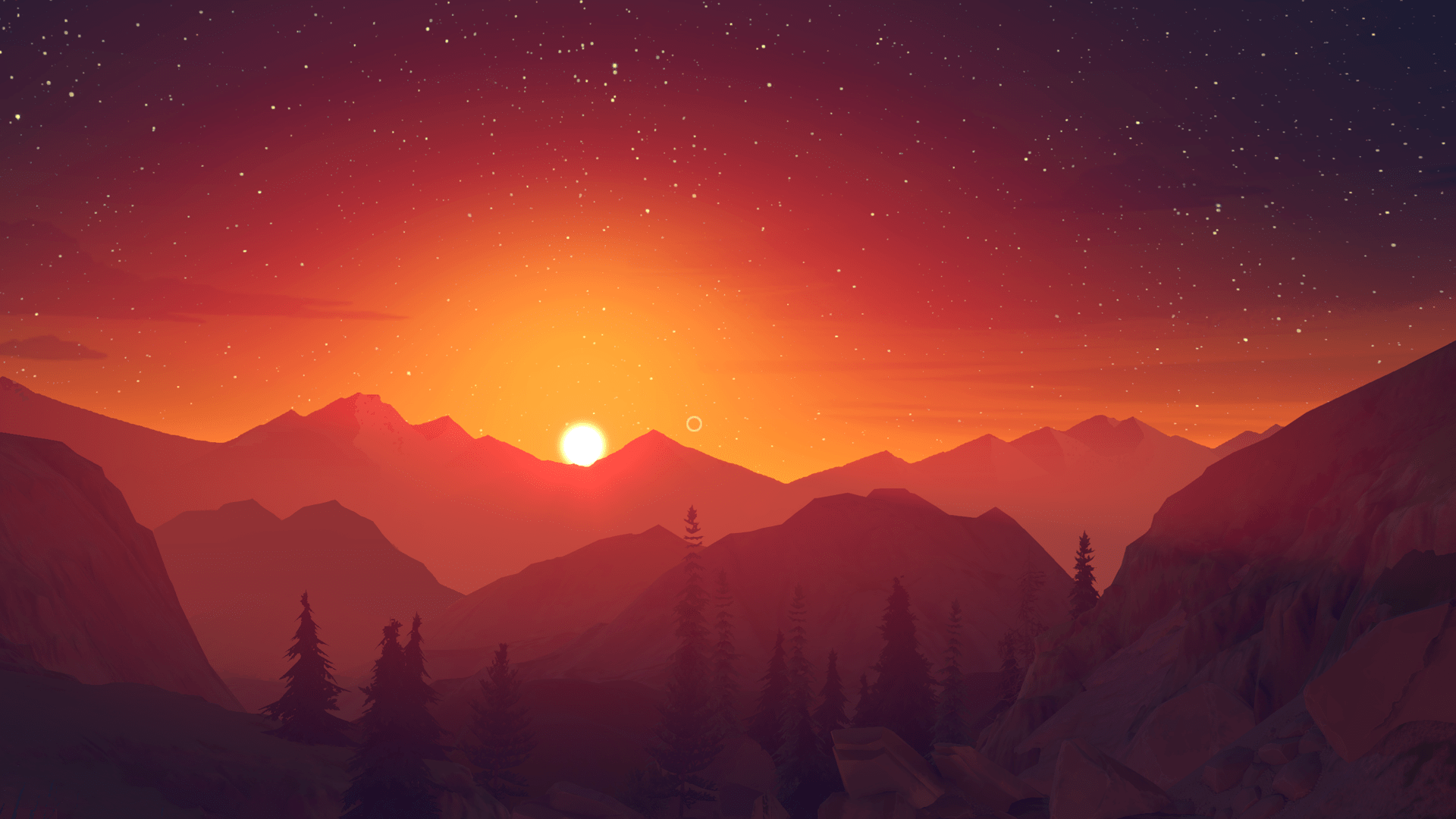 Firewatch Full hd wallpapers